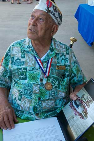 Pearl Harbor survivor photo on blog post for 50th Anniversary of the USS Arizona Memorial