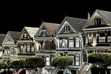 Painted Ladies After Dark