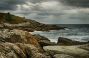 Jerry Kaufman, Weatherbeaten with Grace, Photography Northeast, Maine, Scarborough, Prout's Neck, Shoreline